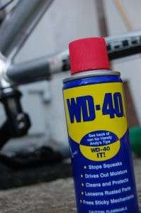 Will WD40 damage my paint