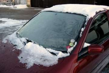 how to defrost windshield with vinegar