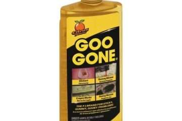 is goo gone safe for car paint