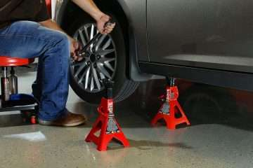 BIG RED T43202 Torin Steel Jack Stands
