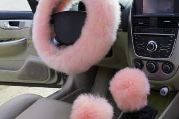How to Make a Fuzzy Steering Wheel Cover